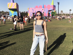 I went to a music festival on my period, and I survived!