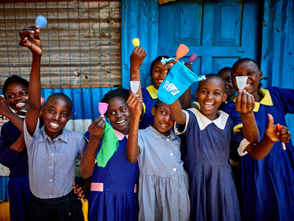 Providing Aide to Menstruating Girls In Need