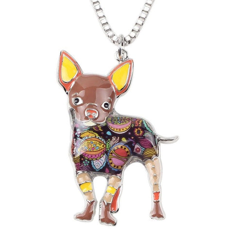 Multicolor Dog Pendant - WeArePretty