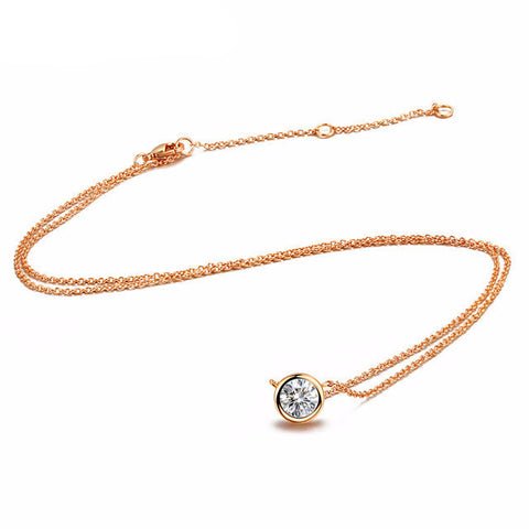Round Crystal Necklace - WeArePretty