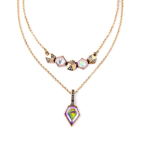 Rainbow Gems Pendant - WeArePretty