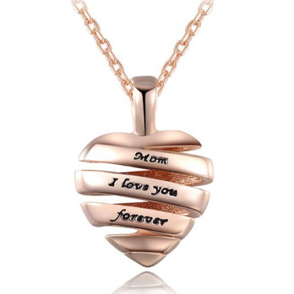 Mom I love you forever necklace - WeArePretty