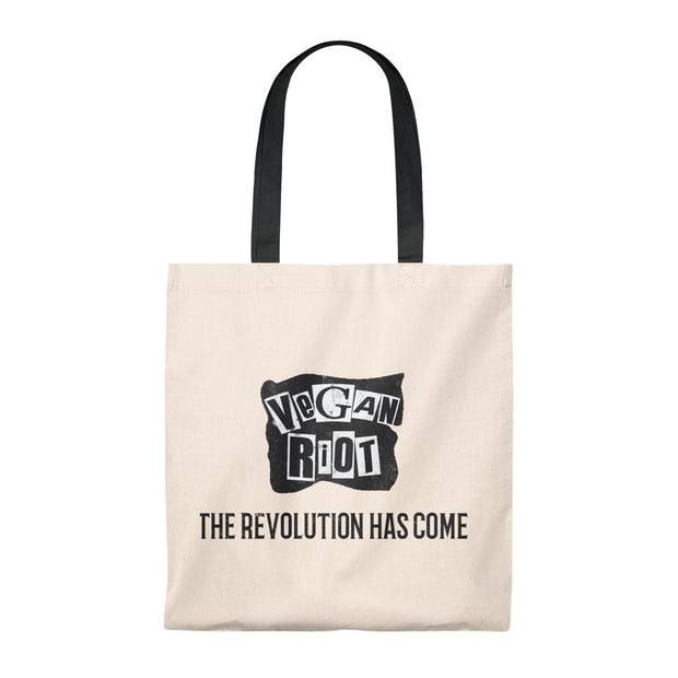 Vegan Revolution Tote Bag - Vintage