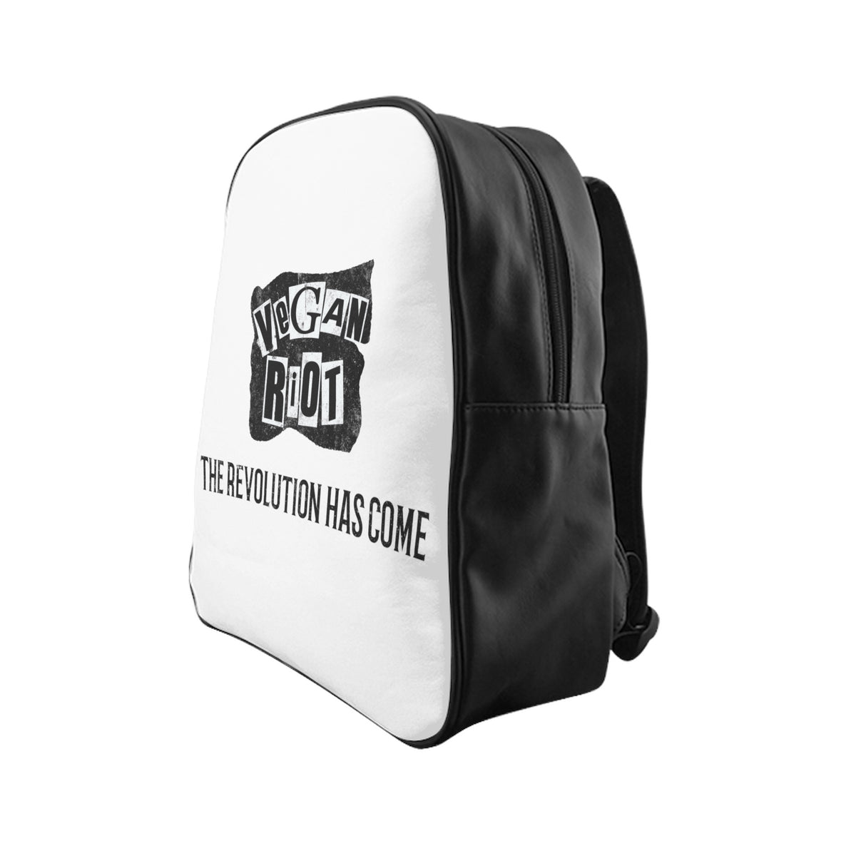 Vegan Revolution School Backpack