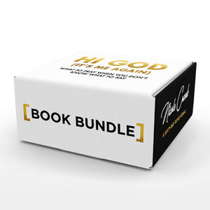 Hi God (It's Me Again) Premium Book Bundle