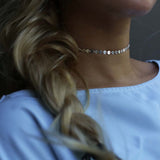 Chain Statement Choker Necklace