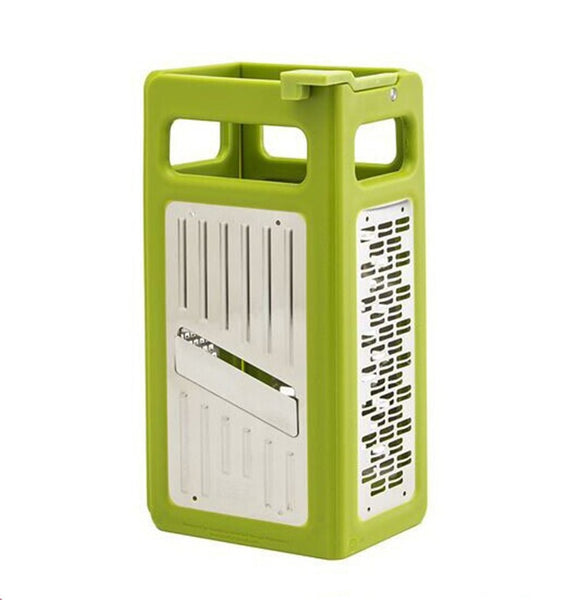 4 in 1 Kitchen Grater. Folds Flat for easy storage.