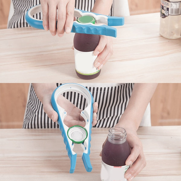 4 In 1 Gourd-Shaped Jar Opener