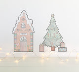 Gingerbread Cottage - Pink