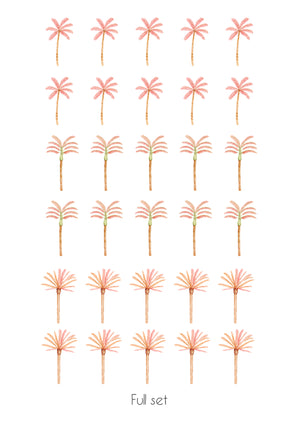 Happy Palms - Pink Mixed
