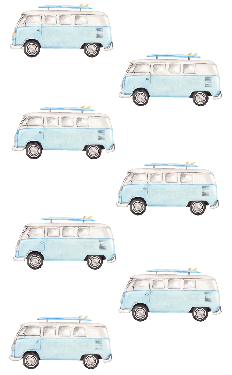 Combi Wall Stickers - Blue