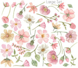 Falling Flowers - Wall Stickers