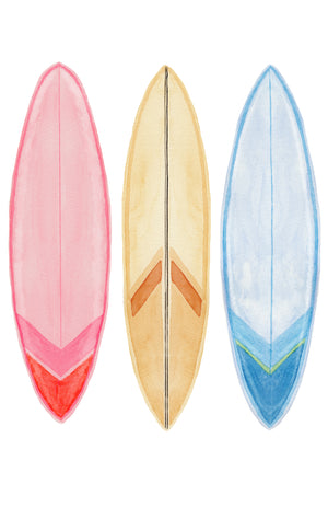 Surfboard Wall Stickers