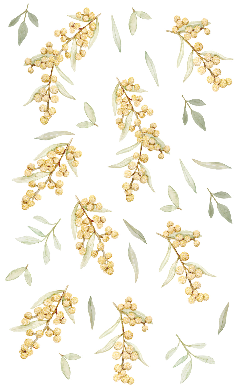 Wattle Wall Stickers