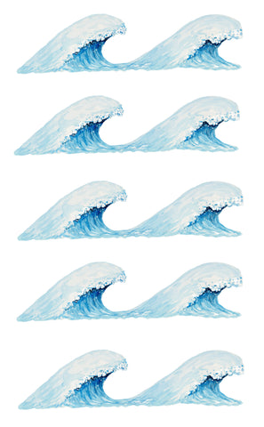 Wave Wall Stickers
