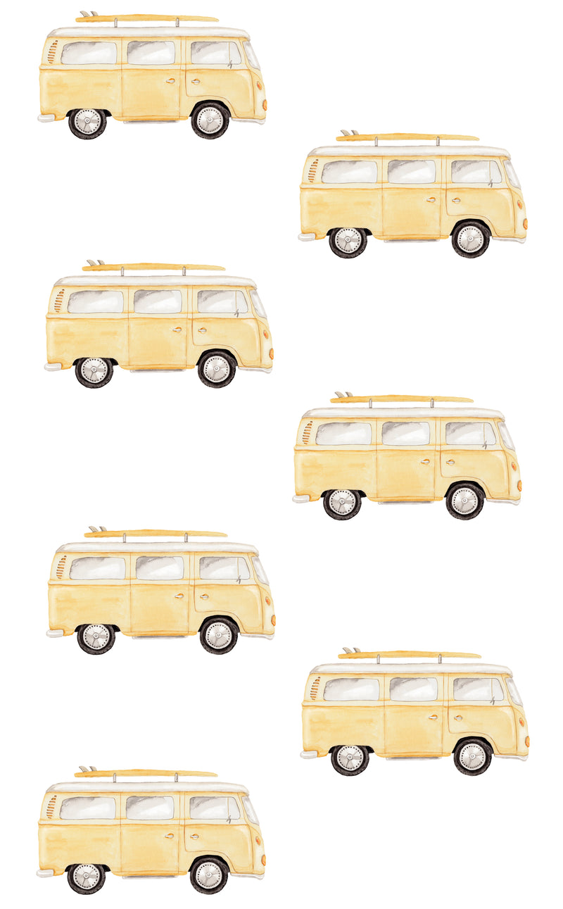 Combi Wall Stickers - Mustard