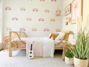 Combi Wall Stickers - Pink