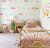 Coast Life Wall Stickers - Pink
