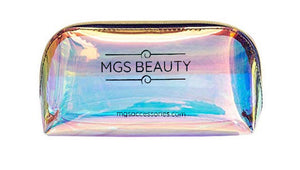 Large Holographic Makeup Bag