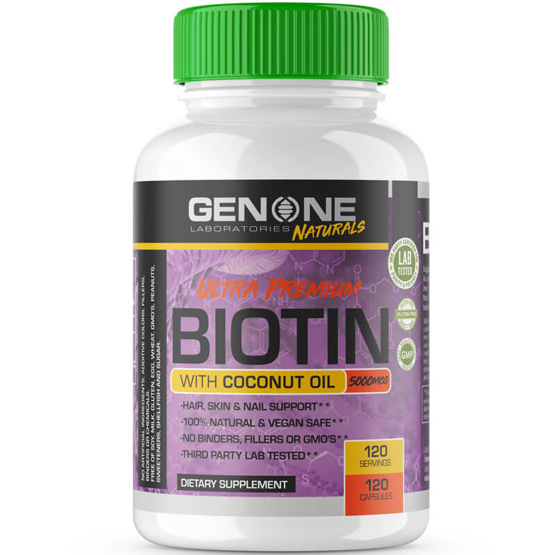 ULTRA PREMIUM BIOTIN WITH COCONUT OIL