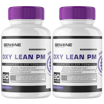 OXY LEAN PM PREMIUM SLEEP FORMULA (2 BOTTLE BUNDLE)