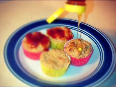 Bake Your Golden Morn into A Muffin