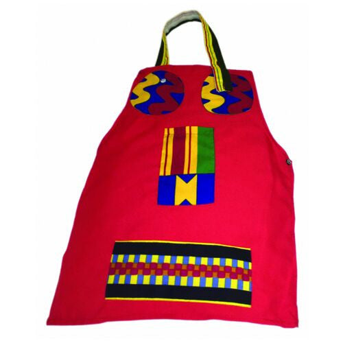 Red Face Children Apron