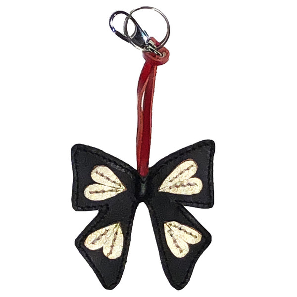 Butterfly Leather Key Chain/ Accessory - Idong Harrie