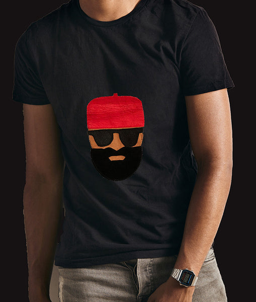 Red Cap on a Tee - Tribalwest Fashion