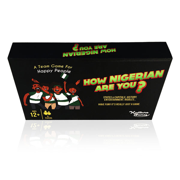 How Nigerian Are You? - Kulture Games