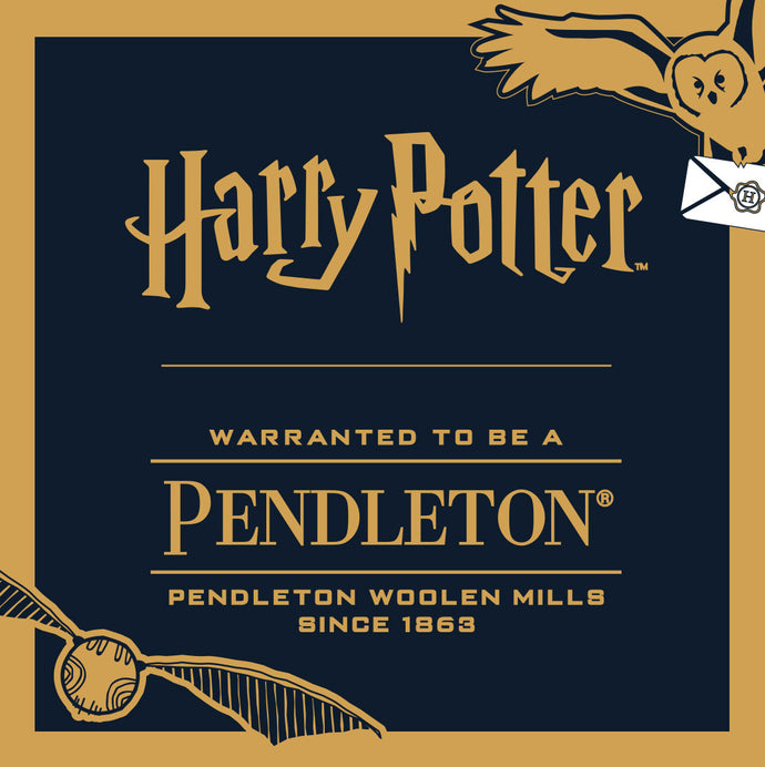 Harry Potter x Pendleton Collaboration is here!