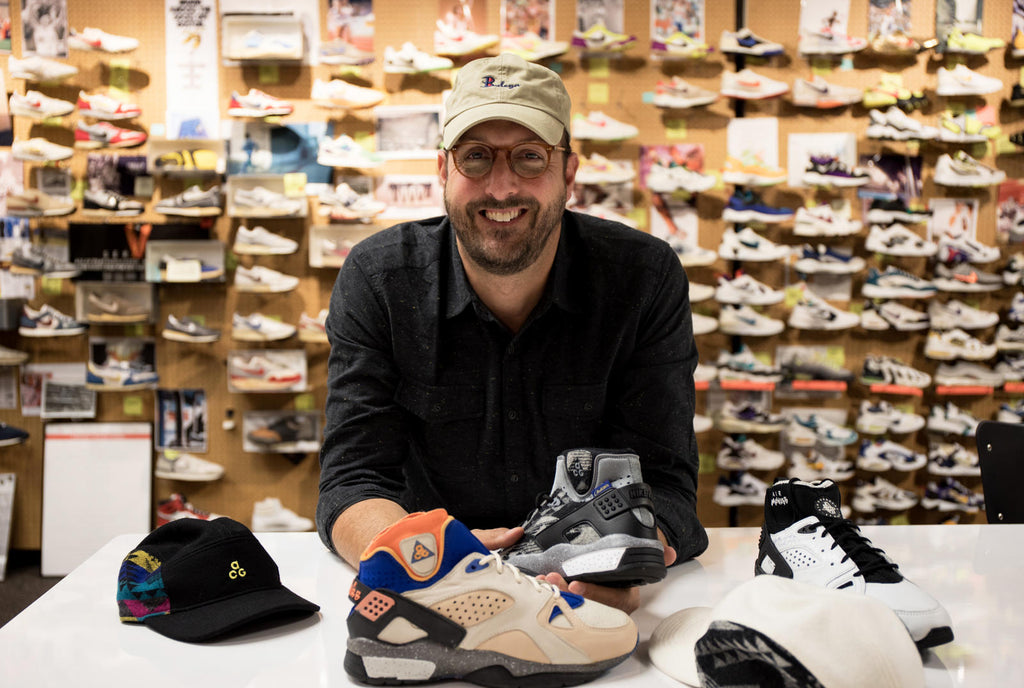 b452407899b4 The shoe was also the beginning of Gordon s antiquarian approach to  collecting ACG. He studied all its nuances  from the Mowabb s speckled  midsole (a Nike ...