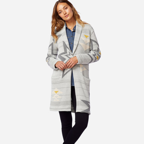 Plains Star Sweater Coat