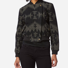 PRE ORDER Fitted Wool Bomber Jacket - Sonora