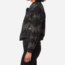 Fitted Wool Bomber Jacket - Sonora