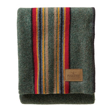 PRE-ORDER Camp Throw - Green Heather