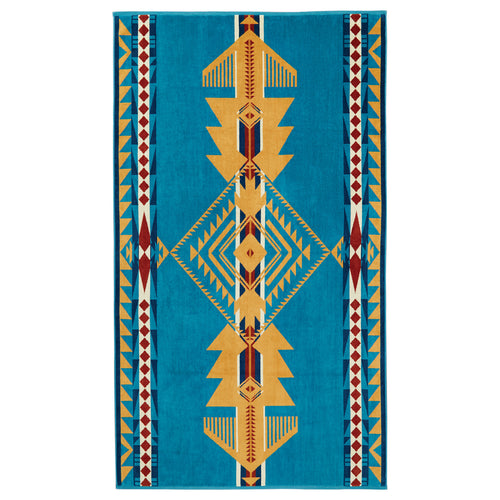 Jacquard Beach Towel - Eagle Gift