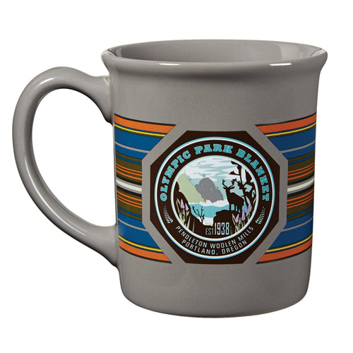 National Park Mug - Olympic Grey