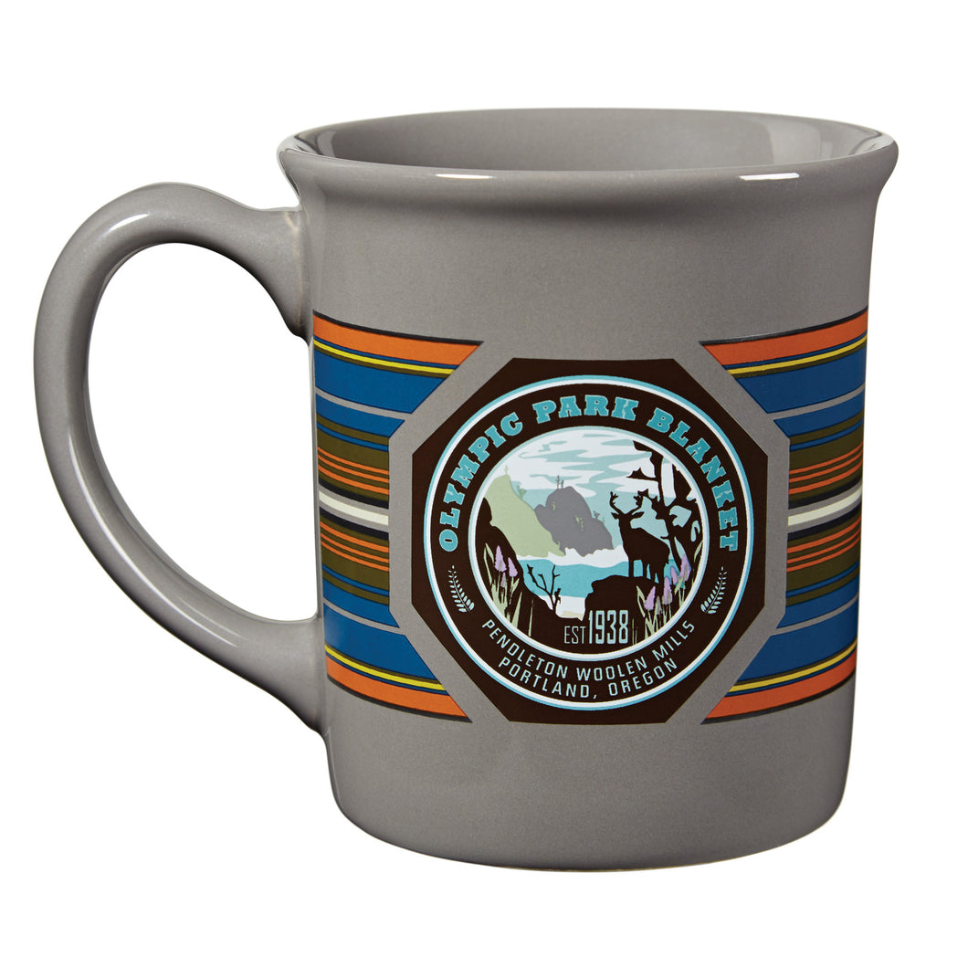 PRE-ORDER National Park Mug - Olympic Grey
