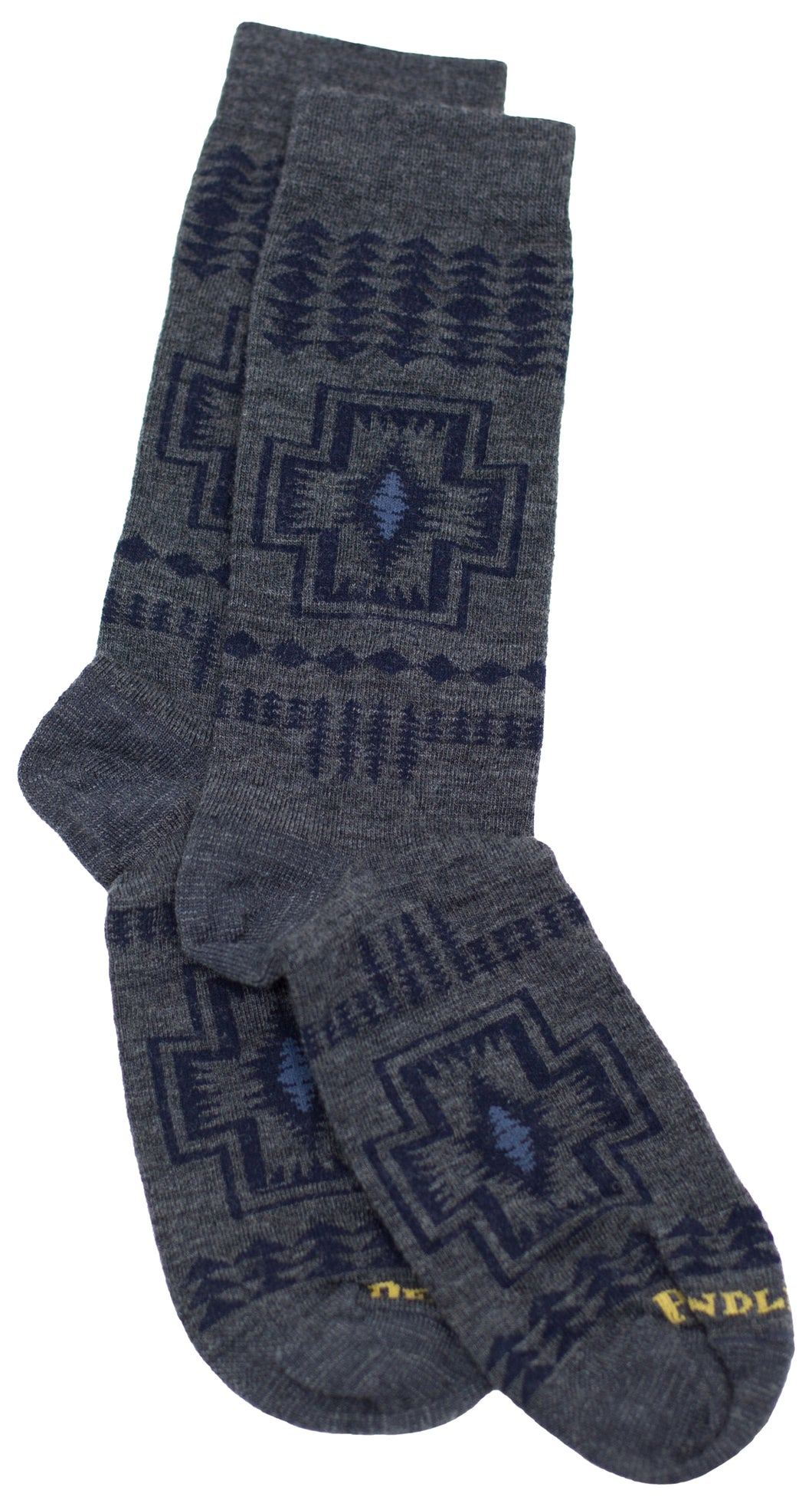 Harding Merino Wool Crew Sock - Grey