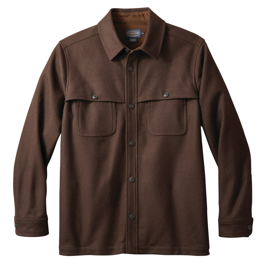 Solid Overshirt - Walnut