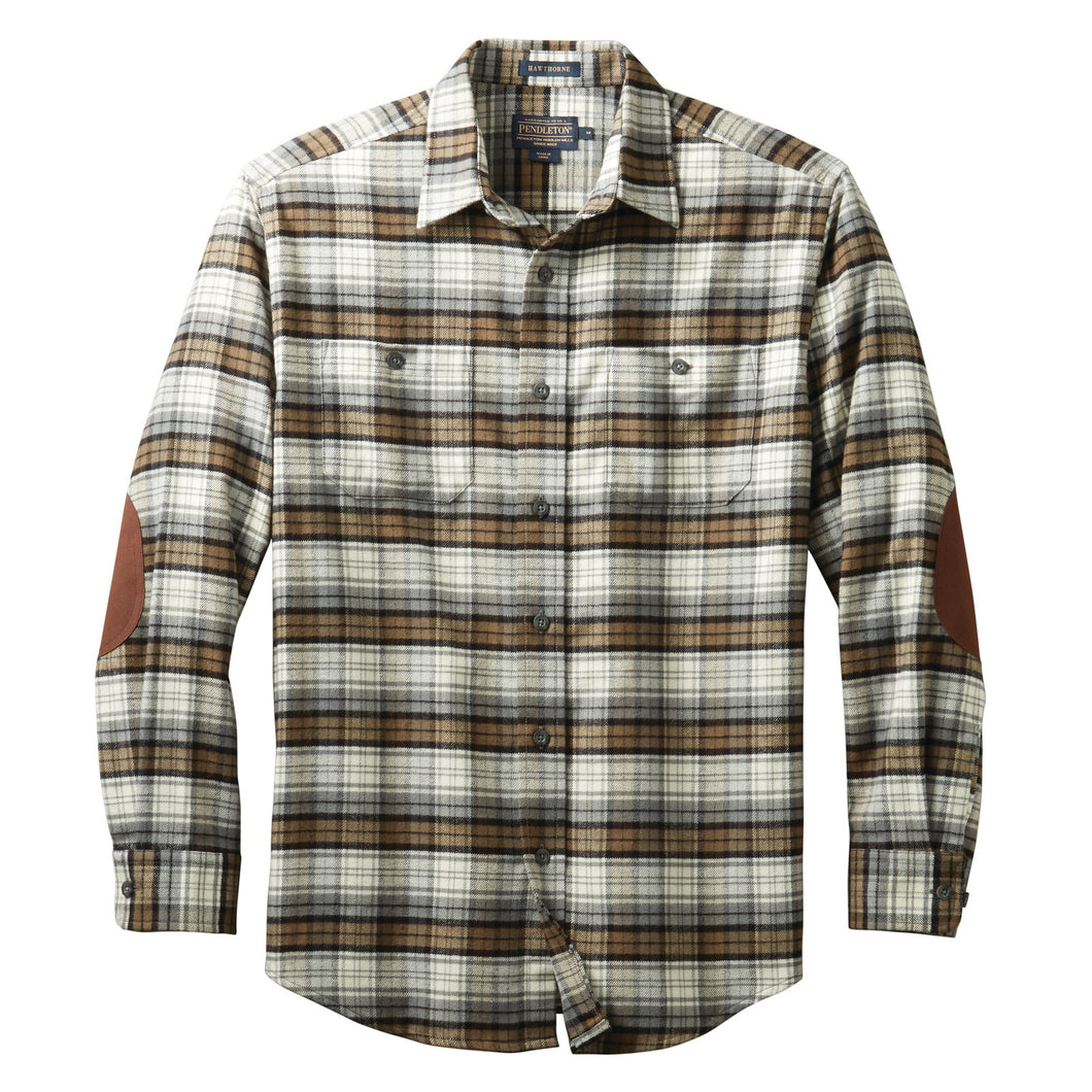 Hawthorne Flannel Shirt - Black Watch Ancient Dress