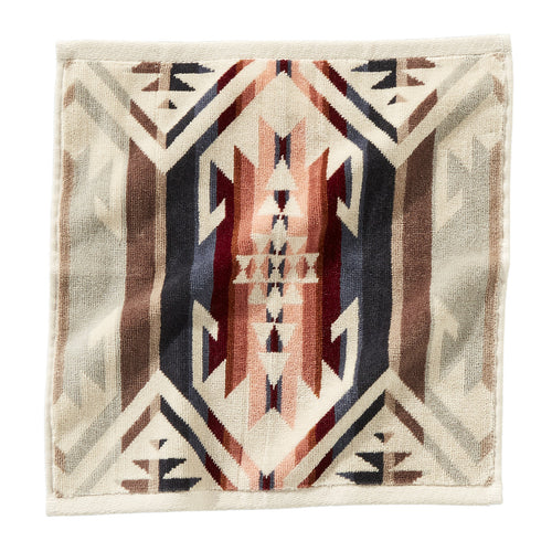 Jacquard Wash Cloth - White Sands