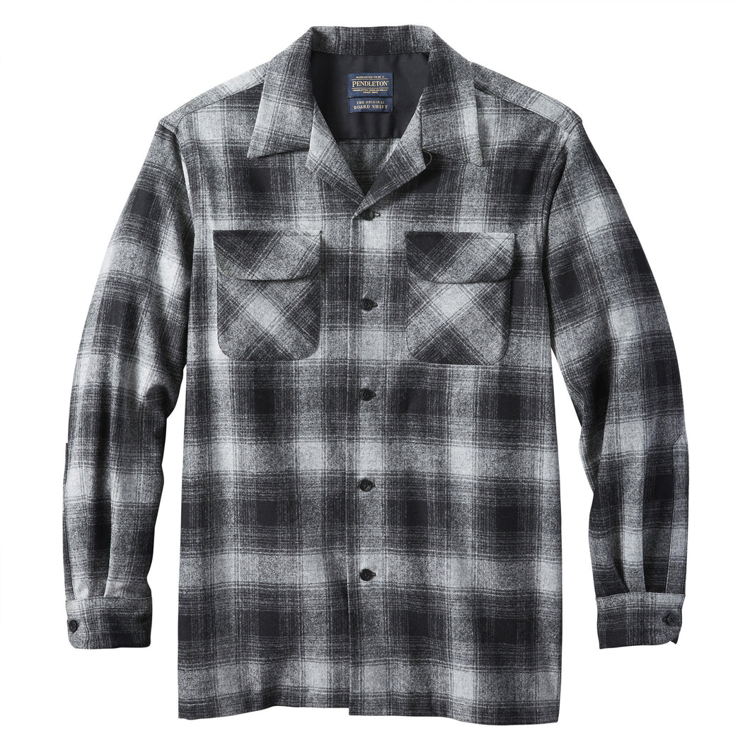 Board Shirt - Black / Oxford Ombre