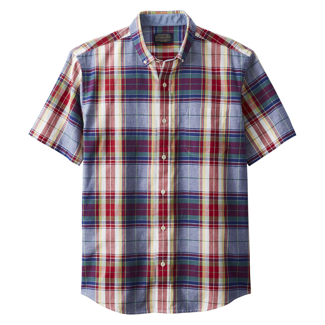 SS Madras - Blue/Red Plaid