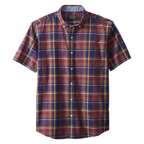 SS Madras - Brown/Blue Plaid