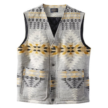 Jacquard Quilted Vest - Rancho Arroyo