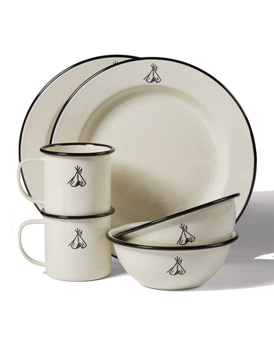 Camp Enamelware Set Of Two