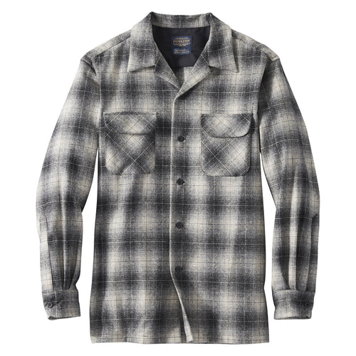 Board Shirt - Grey/Black/Tan Ombre