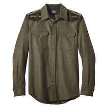 Pieced Canyon Shirt - Moss Mix